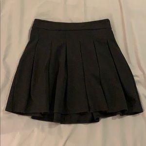 American Eagle Black Skater Skirt XS